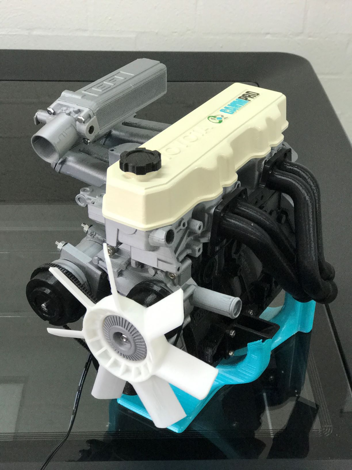 Toyota 3D Printed Engine